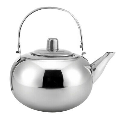 Durable Outdoor Camping Stainless Steel Tea Kettle Water Pot 1L 1.5L 2L 2.5L