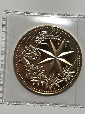 1979 belize star of  BETHLEHEM 6.47g gold coin,400mintage
