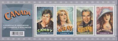Canada 2006 Souvenir Sheet #2153 Canadians in Hollywood - MNH