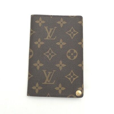 Authentic LOUIS VUITTON Monogram Photo Case brown from Japan