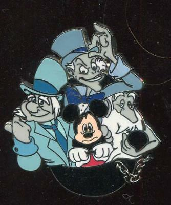 Mickey Mouse and Hitchhiking Ghosts Disney Pin 69062