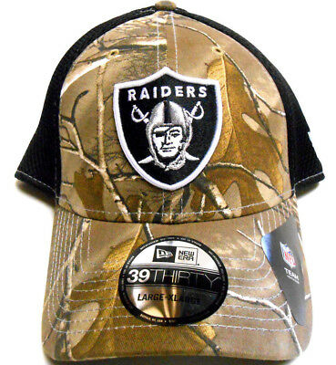low priced 18237 b2611 ... low price new era 39thirty nfl hat cap oakland raiders realtree camo  football large xlarge f4406