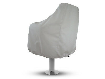 Boat Seat Cover Color White, Weather-Resistant Marine Canvas