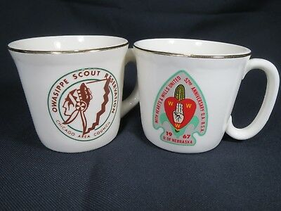 Vintage Boy Scout Mug Mugs 1967 Arrowhead + Owasippe Scout Reservation Chicago