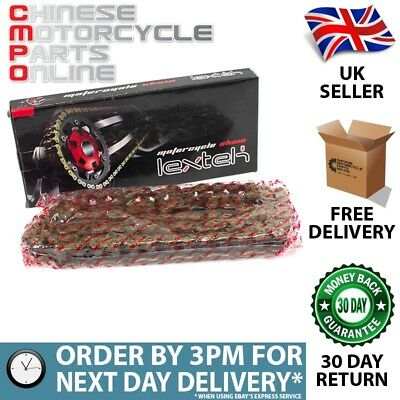 Lextek Motorcycle O-Ring Drive Chain 530-108 for Zongshen Storm 250 ZS250GS