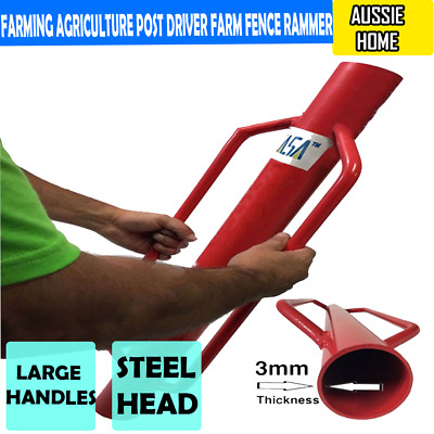 Farming Agriculture Post Driver Farm Fence Rammer Y Post Steel Star Picket 950mm