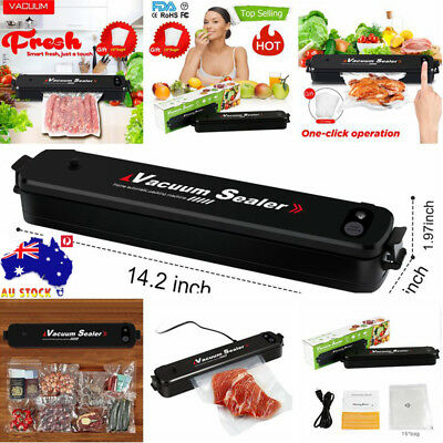 AU FDA Automatic Vacuum Sealer Packing Machine Food Saver Sealing Storage Vacuum