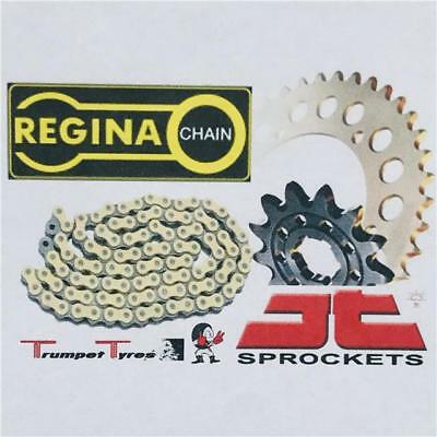 Yamaha Yzf-R1 09 - 14 Regina Chain X Ring Zrt 530 Jt Sprocket Set 17 47