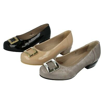 Ladies Nude,Black Patent Leather or Silver Slip On Da Bella By Easy B Shoes Lynn