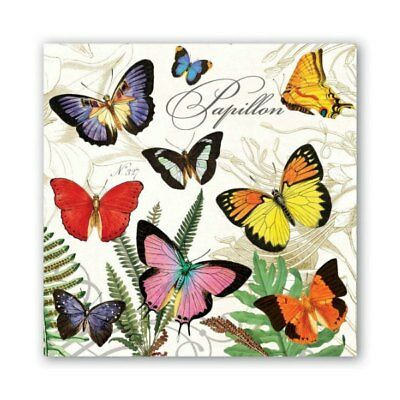 Papillon Luncheon Napkins by Michel Design Works - Pack of 20