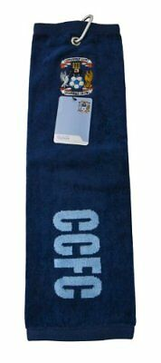 Coventry City Golf Tri-Fold Towel