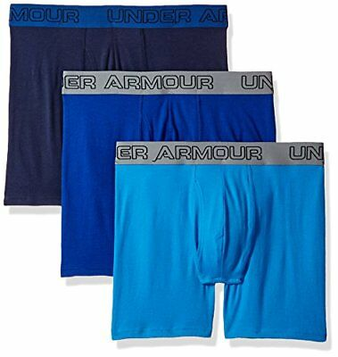 Under Armour Mens Charged Cotton Underwear Bottom, Brilliant Blue, Small6-Inch