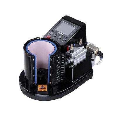 110V HOT! Pneumatic 11OZ Mug Transfer Sublimation Heat Press Machine