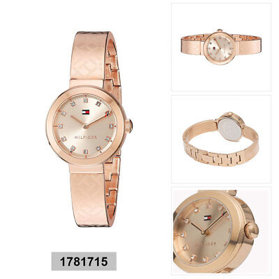 c16ad9801e4 TOMMY HILFIGER ANALOG Business Dani Rose Gold Ladies 1781642 .