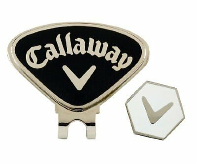 Callaway Magnetic Hat Clip and Ball Marker - Black