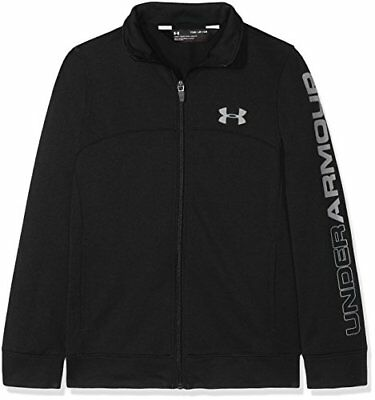 Under Armour Pennant, Warm Up Top Boys, Black, YouthLarge