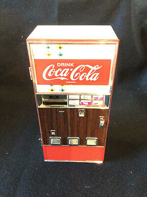 1996 COCA COLA Collectible Musical Bank, Great Condition-Still Works