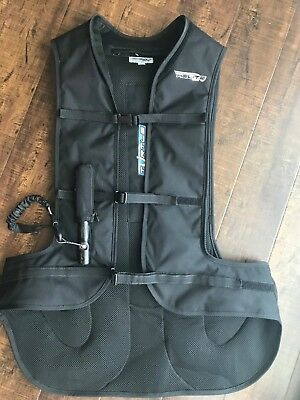 Helite Turtle Airbag Vest (Black) XL