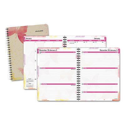 At-A-Glance Watercolors Weekly/Monthly Planner 8 1/2 x 11 Watercolors 2019