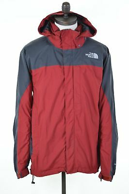 THE NORTH FACE Mens Windbreaker Jacket Size 44 Large Red Nylon