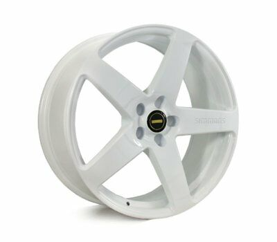 BMW  X3 2010 TO CURRENT WHEELS PACKAGE: 20x8.5 20x10 Simmons FR-C Full White and