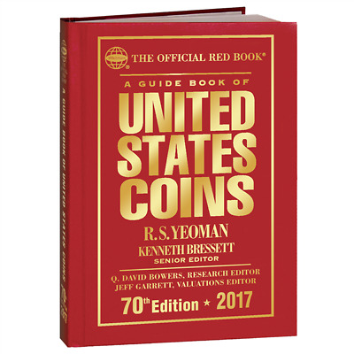 2017 Red Book Guide To United States Coins, Hard Cover New With Free Shipping!!
