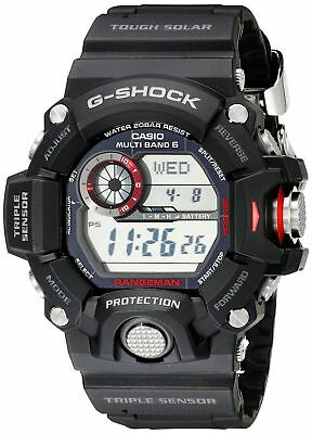 Casio G-Shock GW9400-1CR Rangeman Military Black Triple Sensor Atomic Watch