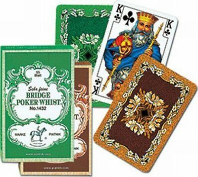 Piatnik 1432 Bridge Poker Whist Card Game 55-Piece