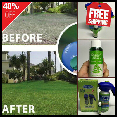 Liquid Lawn System - From Seed to Sod! - 40% DISCOUNT - FREE SHIPPING !
