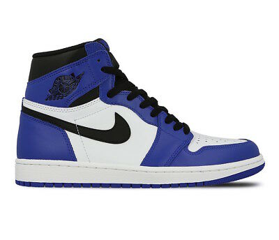 Men s Nike Air Jordan Retro 1 High OG Game Royal Fashion Sneakers 555088  403 lot 8f93fdc64