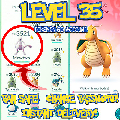 Pokemon-Go Accounts Level 35/32/30/28/27 | Rare | Ban Safe | Instant Delivery
