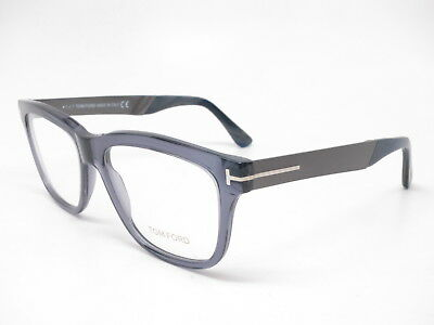 9dc1a2d3fc5 New Authentic Tom Ford TF 5372 090 Shiny Blue Eyewear Eyeglasses 54mm  Rx-able~
