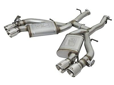 aFe POWER 49-34068-P Mach Force XP Axle Back System Exhaust System Kit