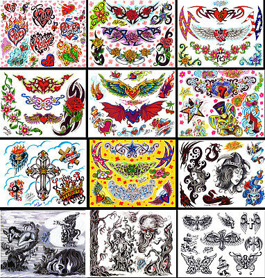"Schidtz 2008 Religious, Lower Back Tattoo Flash 12 Sheets 11x14"" With Linework"