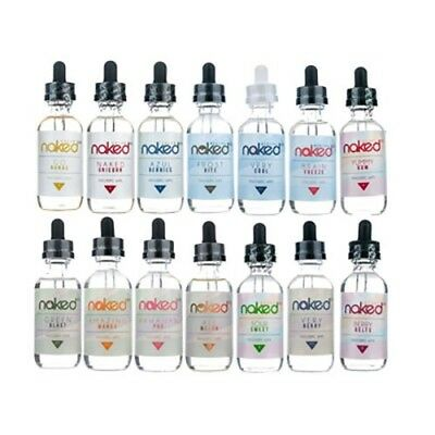 Naked-100 Candy, Menthol, Creme 60mL *ALL FLAVORS/ALL LEVELS* FREE SHIPPING