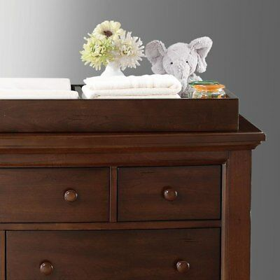 Bertini Pembroke Dresser Topper DARK WALNUT