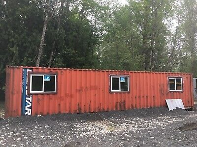 40' Shipping Container Mobile Office House Storage Bunker 40'