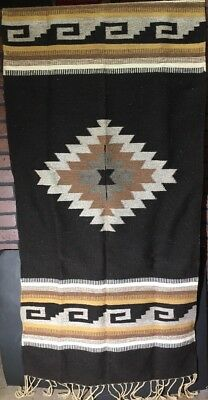 Nice Heavy WOOL PONCHO Vintage, One Size Fits Most See All Pics