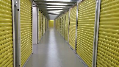 Steel Roll Doors 7X6 R For Shipping Container Storage Unit Shutter