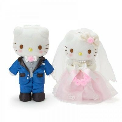 New Sanrio Hello Kitty & Dear Daniel Plush Doll Set  Wedding from Japan F/S