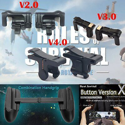PUBG Shooter Smart Cell Phone Gaming Trigger Fire Button Handle L1R1 Controller