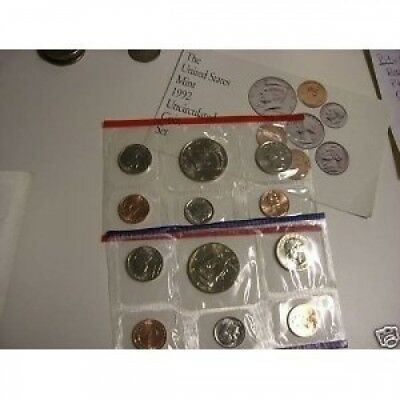 1992 COMPLETE UNITED STATES US MINT COIN SET. Huge Saving