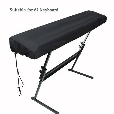 Piano Keyboard Dust Cover for 61-Key Keyboard with Elastic Cord HG269