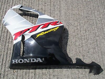 Honda Vtr 1000 Sp1 Sp2 - Left Side Body Fairing Panel - Damaged For Repair - O/e