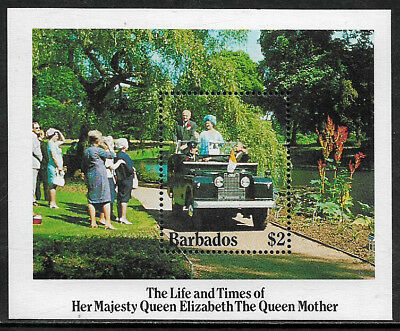 Barbados #664 Mint Never Hinged S/Sheet - Queen Mother's Birthday