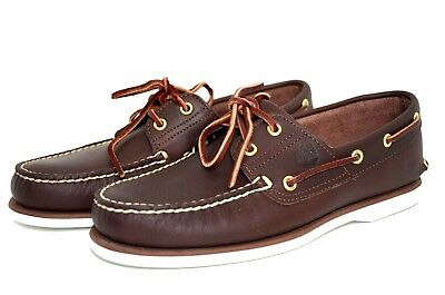 TIMBERLAND 74035 CLASSIC 2-EYE Brown BOAT SHOE
