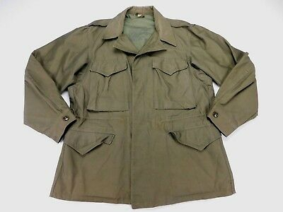 USGI Genuine WW2 WWII US Military M-1943 M-43 Field Jacket OD Green 40 Regular