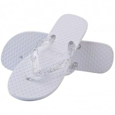 af214d7ccdf6ca ZOHULA WEDDING Flip Flops -White Glitter medium - £2.99
