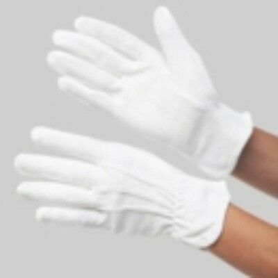 Catering Pack of 10 Rubber Grip Heat Resistant Gloves for Warm Items M & L B & W
