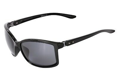 NEW Oakley Sunglasses OO9292-02 Women's Step Up Polished Black Frame Gray Lens